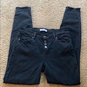 "Loft ""modern skinny"" black jeans"
